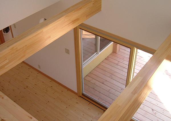 住宅・共同住宅|デザイン住宅が得意の設計事務所による2階風景画像